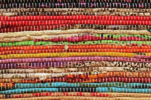 dywaniki kolorowe