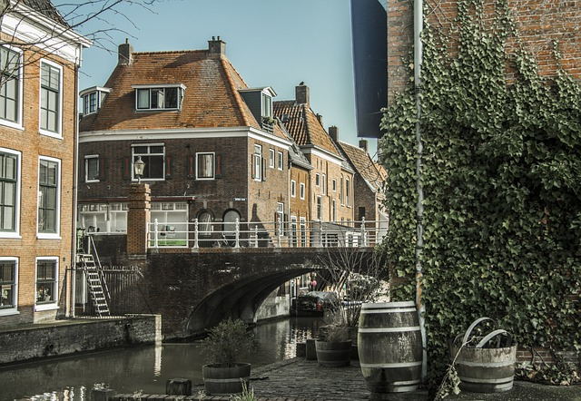 domek holenderski wnętrze